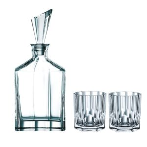 Whiskykaraffe mit Gläsern ASPEN 7375