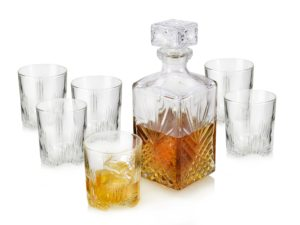 bormioli whiskykaraffe set