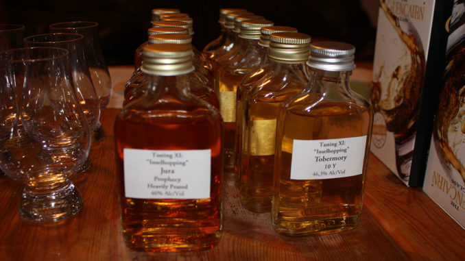 whisky-tasting-zuhause Grundausstattung